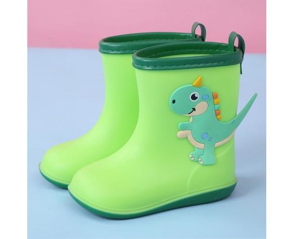 Cizme Dino Rain - verde